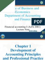 PPT FA I Chapter 1
