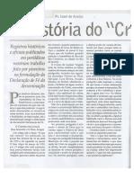 A História do Cremos nas ADs - Pr. Isael de Araújo