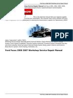 Ford Focus 2000 2007 Workshop Service Repair Manual