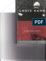 Louis Kahn - Essential Texts 1
