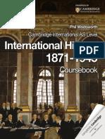 CIE_International_History