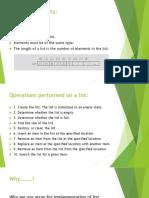 DSA presentation