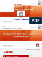 1.1 Introduction of VC & Huawei TE30 & TE60