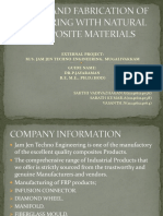 DESIGN AND FABRICATION OF LEAF SPRING WITH NATURAL COMPOSITE MATERIALS