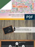 metabolisme energi (KH)