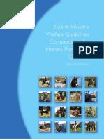 Equine Industry Welfare Guidelines Compendium[1]