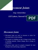 Movement Joints