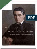 AmorCheNeLaMenteMiRagiona,UnoStudioSullaFilosofiaDellaLibertadiSteiner,Ediz.OSS.