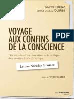 Voyage aux confins de la conscience - Sylvie Déthiollaz & Claude Charles Fourrier