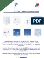 Aerogeneradores Exmork (ProViento)