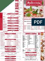 Andiccio 24 menu