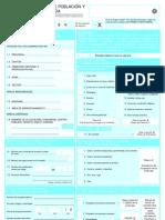Cuestionario de Censo en Ecuador 2010