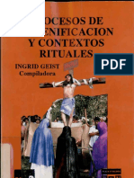 Geist - Procesos escenificacion rituales