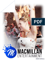 MacMillan Entertainment Wedding Packages Peterborough