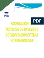 curso de proyectos de inversion