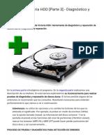 Manual de Victoria HDD [Parte 3].- Diagnóstico y reparación. _ Ⓚⓞⓒⓗⓘⓢⓔ ۞