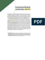 Políticas macroeconomicas en una economía abierta