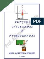 Funções Oxigenadas e Nitrogenadas -  - Prof° Agamenon Roberto