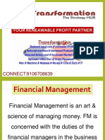 Financial Management -Transformation