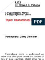Transnational Crime (PSSG MANUEL AND SUERO)