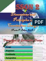 Dimensions and Principles of Curriculum Design.pptx