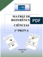 matriz DE CIENCIas
