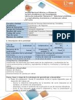 Guía de actividades y rúbrica de evaluación - Momento 2 - Solucionar problema Unidad 1 - Efectivo y equivalentes, inversiones y cuentas por cobrar