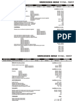 MERCEDES BENZ 1114 - 1517 Data