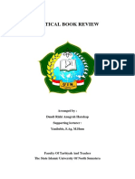 CRITICAL BOOK REVIEW