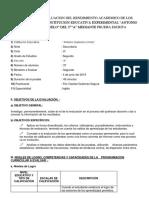 PLAN PARA LA EVALUACION DEL RENDIMIENTO ACADEMICO DE LOS ESTUDIANTES DE LA INSTITUCION EDUCATIVA EXPERIMENTAL.docx