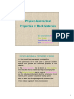 physico mechanical properties