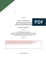 Salingaros-–-Anti-architecture