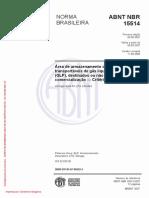 NBR_15514_2008 - Área de armazenamento de recipientes transportáveis de gás liquefeito de petróleo (GLP)