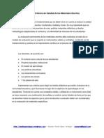 Esquema de Criterios de Calidad Personales - RLopez