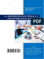 Administración Pública y Financiera en El Ecuador Final