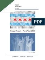 FY 2019 Annual Report E-copy