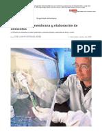 Filtración por membrana y elaboración de alimentos _ Consumer
