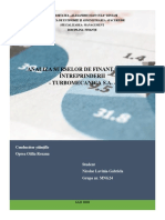 Proiect finanțe (NICOLAE-LAVINIA-GABRIELA)