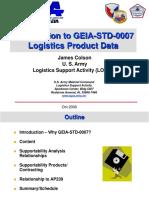 Intro to GEIA-STD-0007 Oct 06
