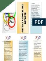 folleto comicion nacion del deporte