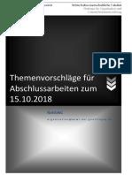 15-10-18 Themenvorschläge für Abschlussarbeiten pdf