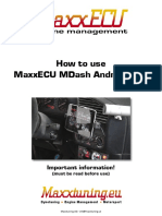 MaxxECU MDash Android app - Manual-en