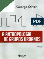 A ANTROPOLOGIA DE GRUPOS URBANOS