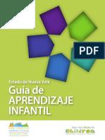 Guía de Apredizaje infantil - Early Learning Guidelines in Spanish