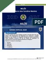 INGLES _ CAROL_MAXIMO - EEAR _ AULÃO INGLES