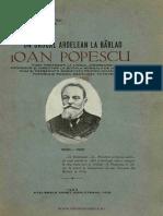Un Dascăl Ardelean La Bârlad Ioan Popescu