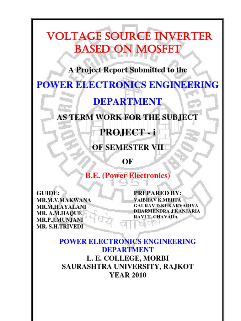 Voltage Source Inverter 2 Power Transformer Mosfet Switch Circuit With Delay Timer Electronic Projects