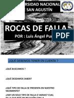 ROCAS DE FALLA