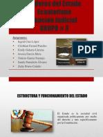 PODERES DEL ESTADO -FUNCION JUDICIAL