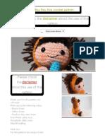 Amigurumi Lion Boy Boy free crochet pattern _ The Sun and the Turtle - Amigurumi patterns and beanies